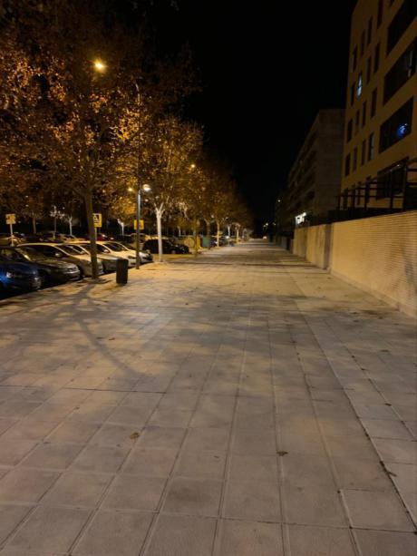 El Ayuntamiento de Toledo refuerza la iluminación de las aceras de la Fase V del Polígono con la instalación de 68 nuevos puntos de luz