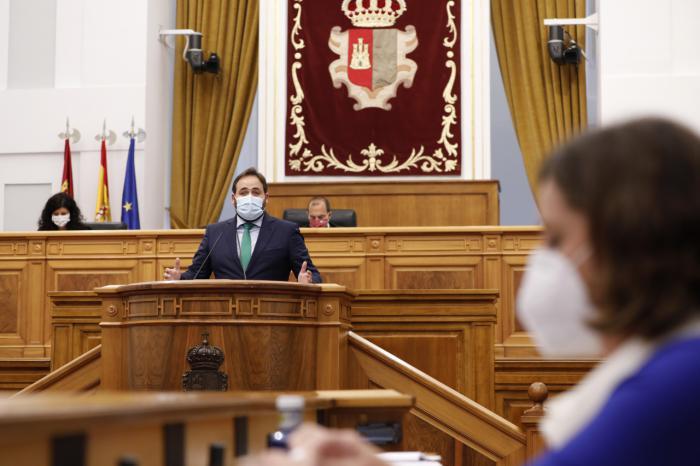 """Las Cortes regionales piden que las ayudas a la hostelería lleguen """"con la mayor agilidad posible"""""""