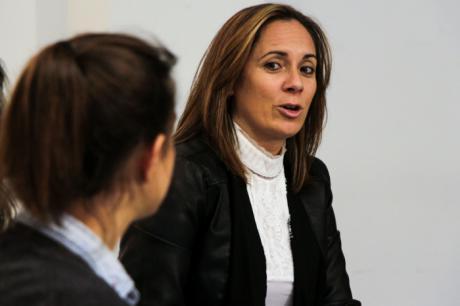 """Cristina Pinar: """"Una formación integral es una herramienta muy valiosa en la lucha contra la Violencia de Género"""""""