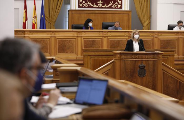 Las Cortes regionales reconocen los esfuerzos de profesionales, población y Gobierno regional durante el primer año de pandemia