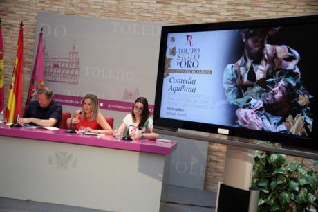 """La alcaldesa de Toledo ensalza los ocho espectáculos """"de primer nivel"""" que acogerá la XXVI Muestra de Teatro Clásico del Teatro de Rojas"""