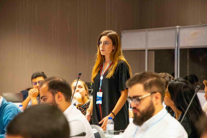La joven Beatriz González participa en la II edición de la Escuela Europa en Lisboa