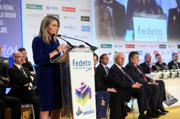 La alcaldesa de Toledo anuncia en la XXI edición de los Premios de FEDETO un Plan de Ayuda para la Revitalización del Comercio
