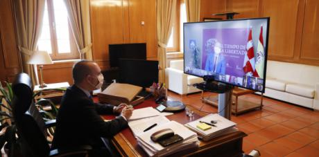 """Bellido confía en que el V Centenario Comunero ejerza como """"palanca para un parlamentarismo más abierto y para reivindicar a las mujeres borradas de la historia"""""""
