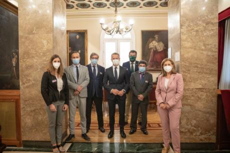 Las CEOE de Cuenca, Soria y Teruel piden colaboración del Senado para activar las ayudas al funcionamiento