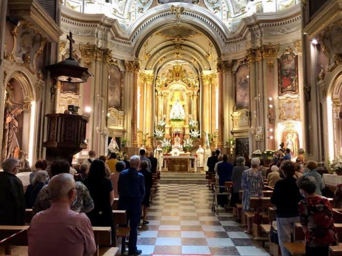 Cuenca honra a la Virgen de la Luz, en un día marcado por la COVID-19
