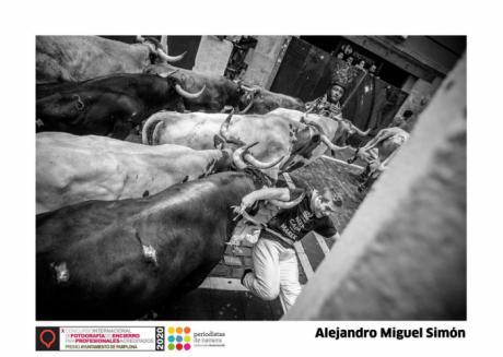 El conquense Alejandro Miguel Simón gana la X edición del Concurso Internacional de Fotografía del Encierro