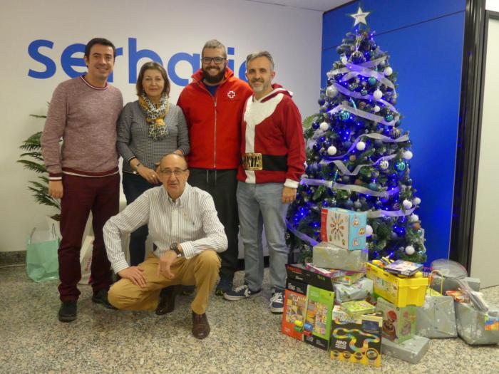 "Serbatic se suma a la ""campaña del juguete"" de Cruz Roja"