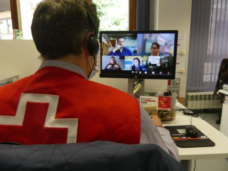 Cruz Roja organiza una videoconferencia sobre ayudas a empresas en zonas despobladas
