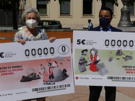 La sociedad conquense ayuda a Cruz Roja a cambiar la vida de más personas aumentando la venta del Sorteo de Oro