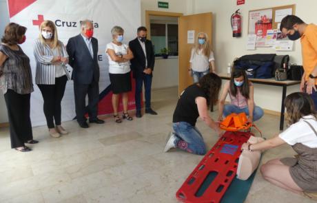 El Certificado de Transporte Sanitario impartido por Cruz Roja consigue un 90% de inserción