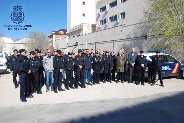 La Comisaría de Policía Nacional de Cuenca recuerda a las víctimas del 11-M