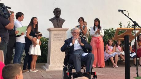 Acto de reconocimiento en El Cañavate a Francisco Luzón