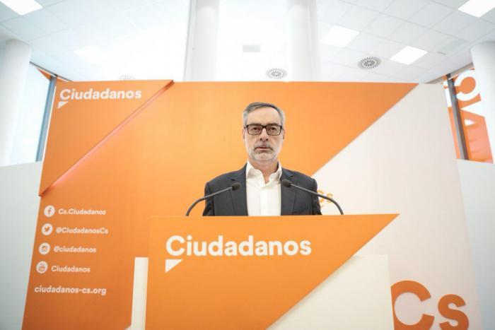 Villegas afirma que Ciudadanos pactaría en Castilla-La Mancha con 'otro PSOE que gire al centro'