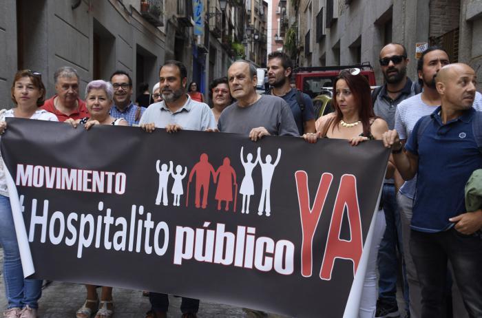 El movimiento 'Hospitalito Ya' vuelve a exigir que el presupuesto de CLM para 2017 incluya una partida para reabrir la residencia de mayores del Casco