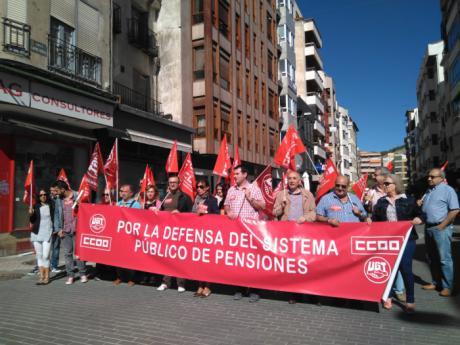 CCOO urge plasmar por ley la revalorización de las pensiones de acuerdo al IPC y derogar la reforma de pensiones de 2013