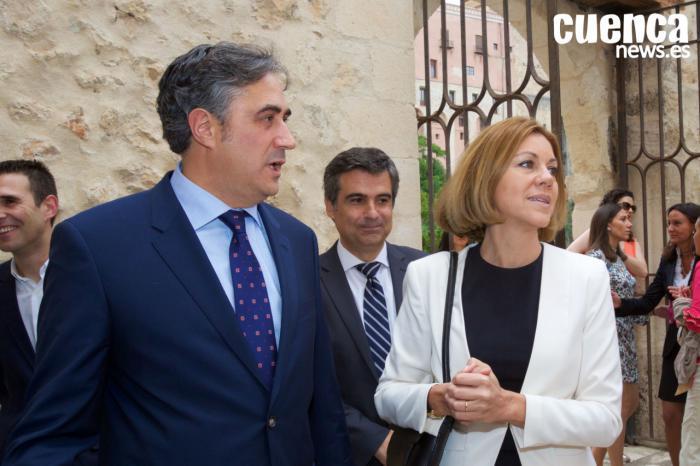 Prieto y Mariscal muestran su apoyo a la candidatura de Cospedal
