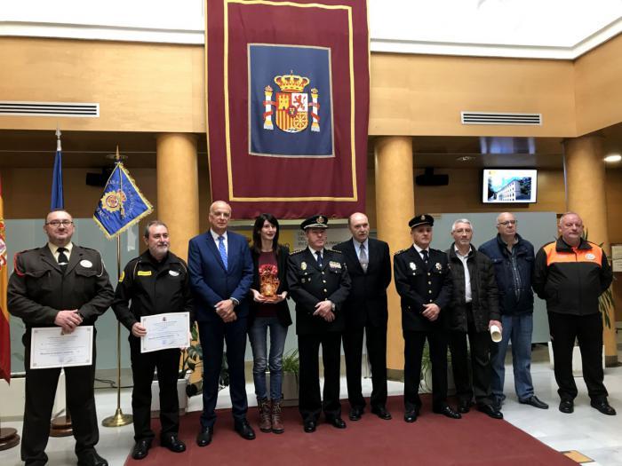 El subdelegado del Gobierno en Cuenca preside el acto de conmemoración del 196 Aniversario de la Policía Nacional