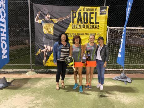 Villanueva de la Jara acogía la última prueba de la fase clasificatoria del VII Circuito de Pádel Diputación