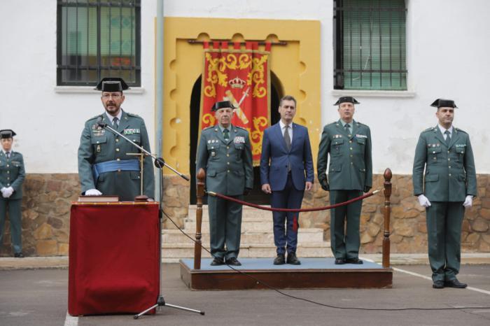 Francisco Tierraseca destaca el esfuerzo del Gobierno de España en el aumento de efectivos de la Guardia Civil
