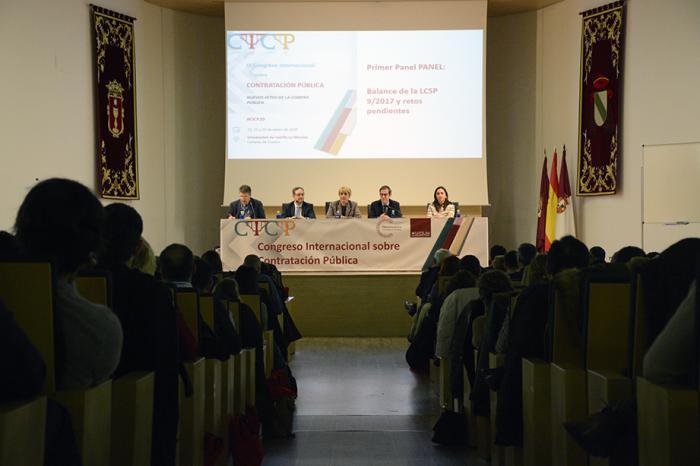 Los desafíos de la aplicación de la Ley 9/2017, objeto de análisis en el Congreso sobre Contratación Pública que acoge el campus de Cuenca