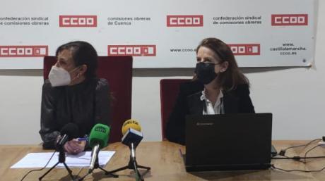 CCOO va a potenciar la formación en salud laboral para combatir la siniestralidad laboral en Cuenca, la segunda provincia con mayor tasa de accidentes mortales del país