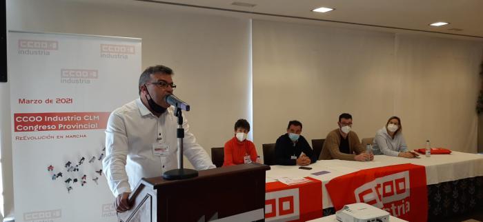 Pedro Lucas, elegido por unanimidad secretario general de CCOO-Industria de Cuenca