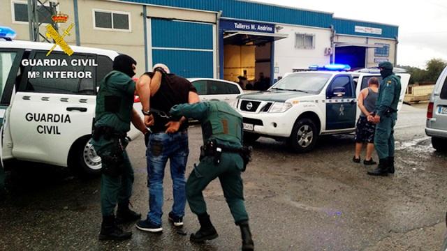 La Guardia Civil desarticula una organización criminal dedicada al robo de coches para su posterior desguace y venta por piezas en Polonia