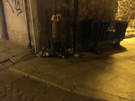 Ciudadanos pide que se intensifique la inspección para controlar la venta de alcohol en comercios más allá de las diez de la noche