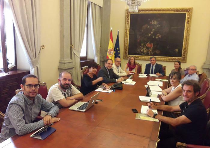 El Alcalde de Cuenca preside la Comisión de Patrimonio del Grupo de Ciudades Patrimonio de la Humanidad de España