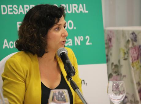 """Orlena De Miguel: """"Debemos afrontar el problema de la despoblación, y para ello, es fundamental generar oportunidades y romper la brecha digital en el entorno rural"""""""