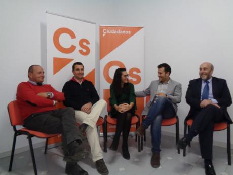 Ciudadanos inicia su proyecto en el municipio de San Clemente