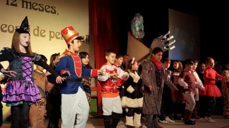Festival de Navidad en el Colegio de Santa Ana