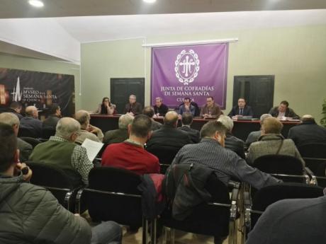 La Junta de Cofradías tendrá un presupuesto de 212.000 euros para 2018, un 6% más que en los dos últimos ejercicios económicos