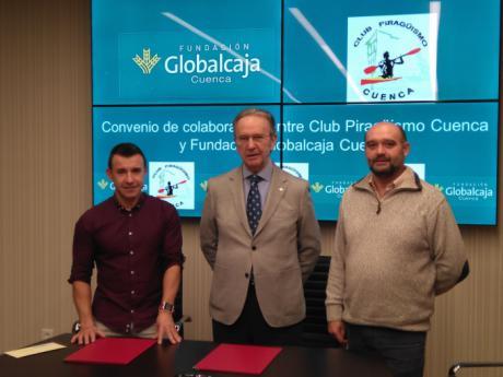 Globalcaja renueva su acuerdo de colaboración con el Club Piragüismo de Cuenca