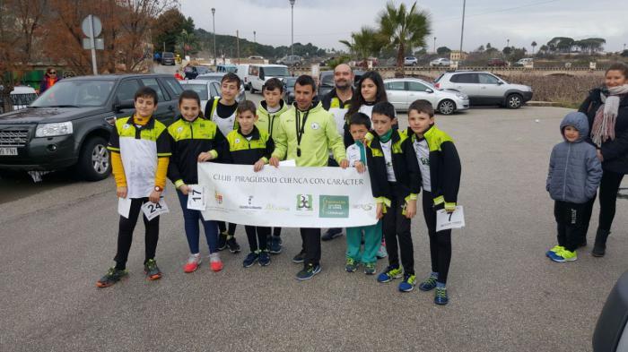 Bronce para el Club Piragüismo Cuenca con Carácter en el gran premio de la floración de Cieza