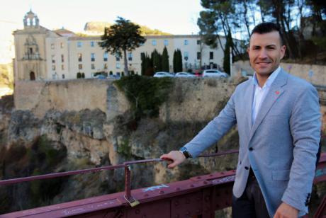 """David Prieto: """"Ese 85 % de crecimiento en el número de inscritos en Cuenca es la confirmación de que Cs también tiene un proyecto que convence en las provincias más rurales"""""""