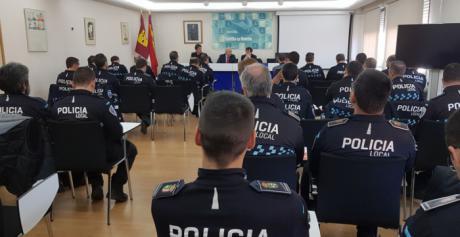 Unos 40 policías locales de Castilla-La Mancha se forman en prácticas eficientes