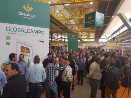 Globalcaja vuelve a mostrar su compromiso con el sector agrario y ganadero con su apuesta por Expovicaman