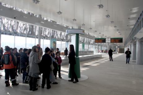 Ciudadanos pide que en los acuerdos sobre los terrenos de Adif se negocie un aparcamiento gratuito junto a la estación del AVE