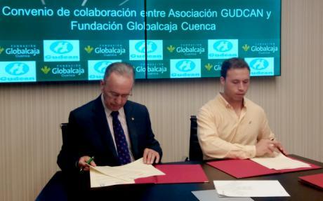 Convenio de la Fundacion Globalcaja Cuenca con GUDCAN