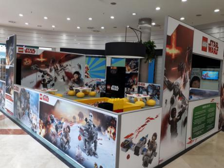 El Imperio Lego Star Wars invade el centro comercial El Mirador