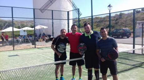 Nacho Correa y Mario Cortijo vencen en Minglanilla en una nueva cita del VI Circuito de Pádel Diputación de Cuenca