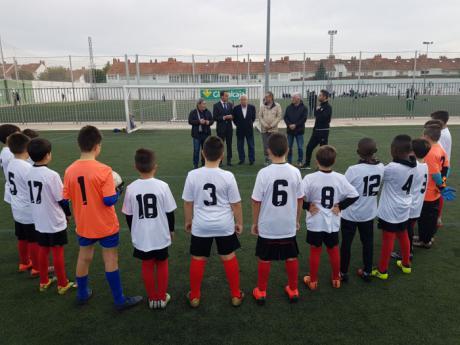 Globalcaja patrocina la Liga Benjamín de fútbol 8