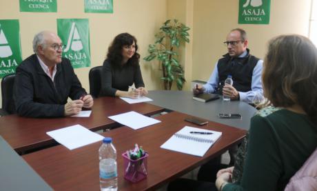 Ciudadanos se reúne con ASAJA Cuenca para hablar de los principales desafíos de la agricultura en la provincia y la región