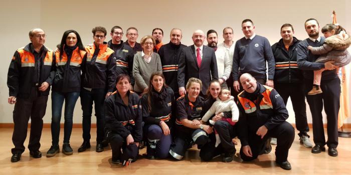 La Junta agradece a la agrupación de Protección Civil de Brihuega su trabajo en estos diez años