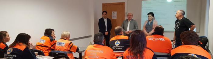 La Escuela de Protección Ciudadana formará durante 2019 a unos 300 voluntarios de Protección Civil para que logren certificados de profesionalidad en materia sanitaria