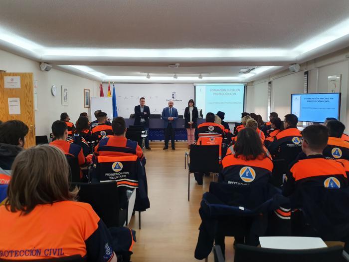 El Gobierno de Castilla-La Mancha formará en 2020 a más de 3.600 efectivos del Sistema Nacional de Protección Civil en la región