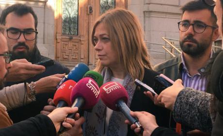 """Carmen Picazo: """"Para Ciudadanos la transparencia en las instituciones es fundamental. No cabe ambigüedad alguna. El PSOE, en cambio, prefiere mirar hacia otro lado"""""""