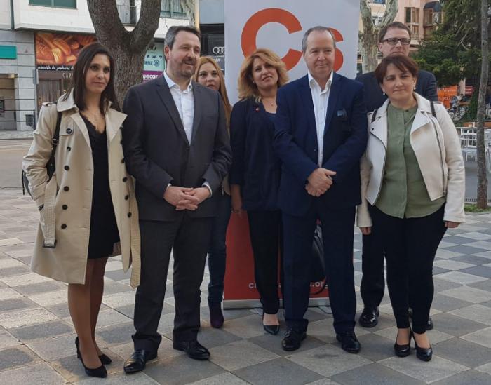 José Luis Muñoz y Jaime Saiz Ciudadanos al Congreso y al Senado por Cuenca
